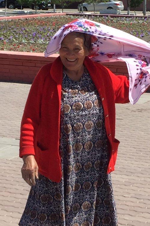 Seidenstrasse-Blog-2017-Tag 18_Frau in Khiva