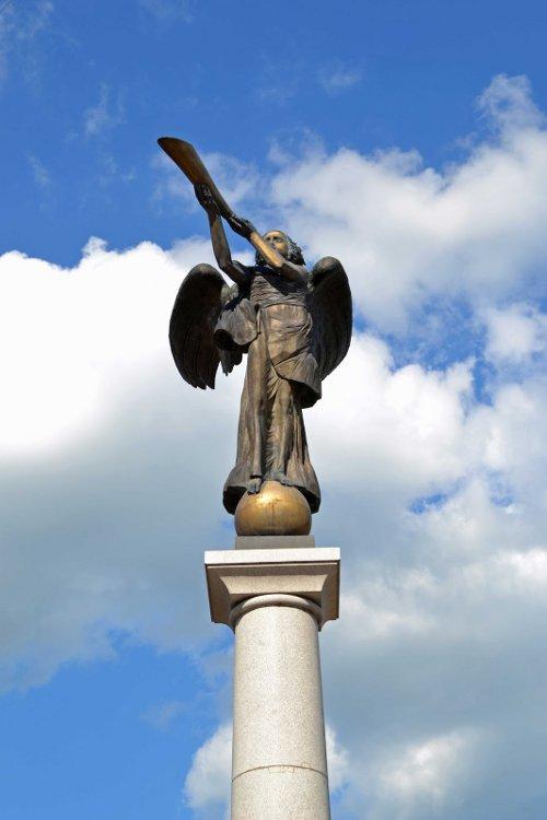 Der Engel - Das Symbol der Republik