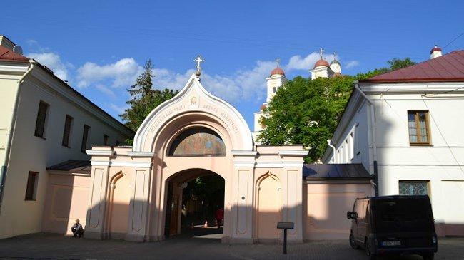 Die russisch-orthodoxe Heiliggeistkirche, drinnen konnten wir dem Gesang im Gottesdienst lauschen
