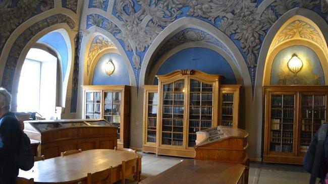 Das blaue Lesezimmer