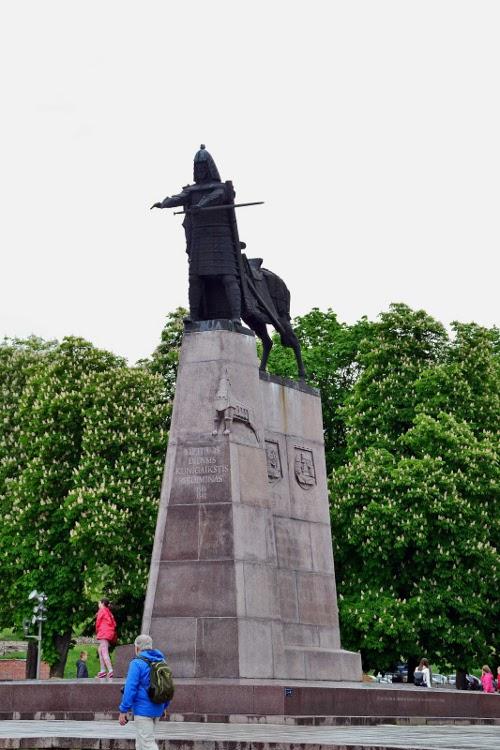 Denkmal für Großfürst Gedimas, dem Begründer der Stadt