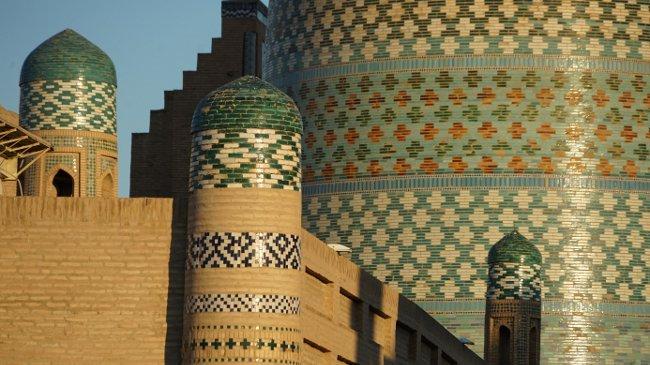 Das reich verzierte Kalta Minar (Walter Weiss)