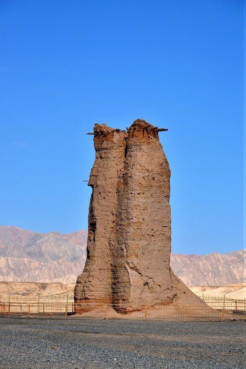 Signalturm aus der Han-Dynastie (Claudia Kennel)