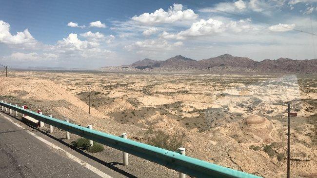 Wüste entlang der Route (Jens Blohm)