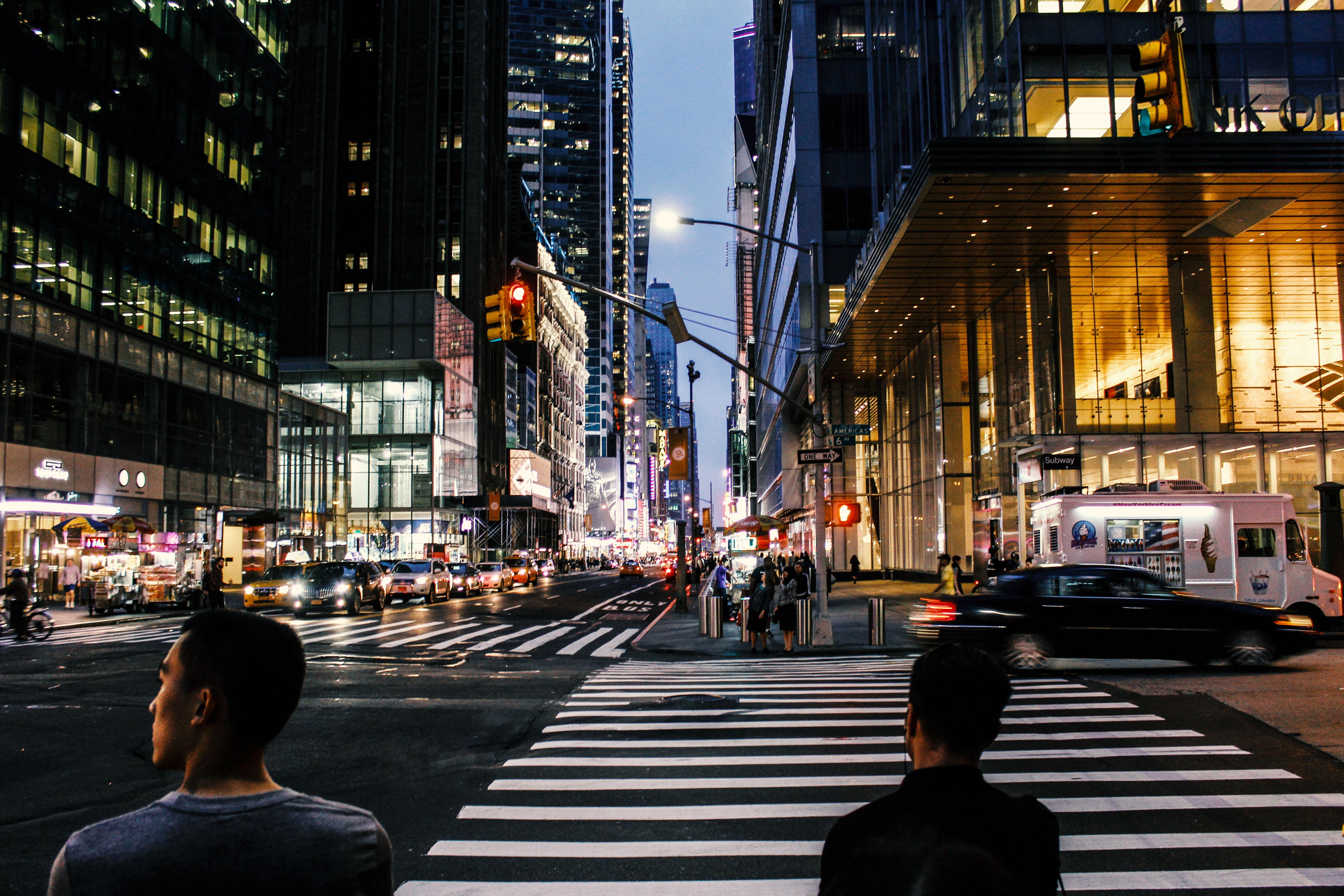 »Menschen in Manhattan«