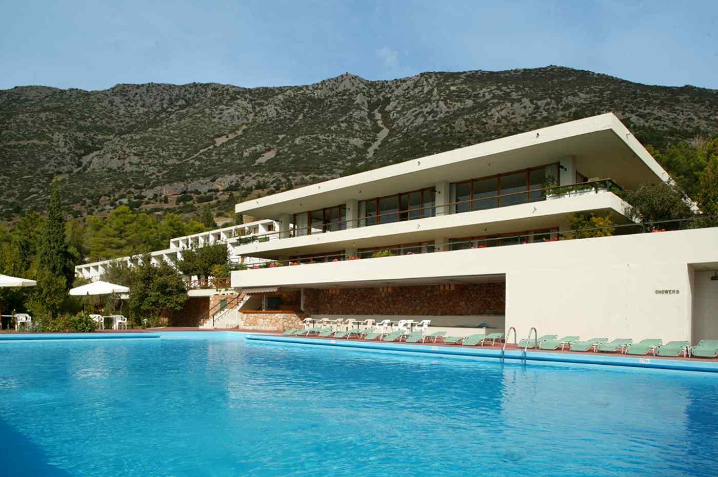 Außenansicht Hotel Delphi