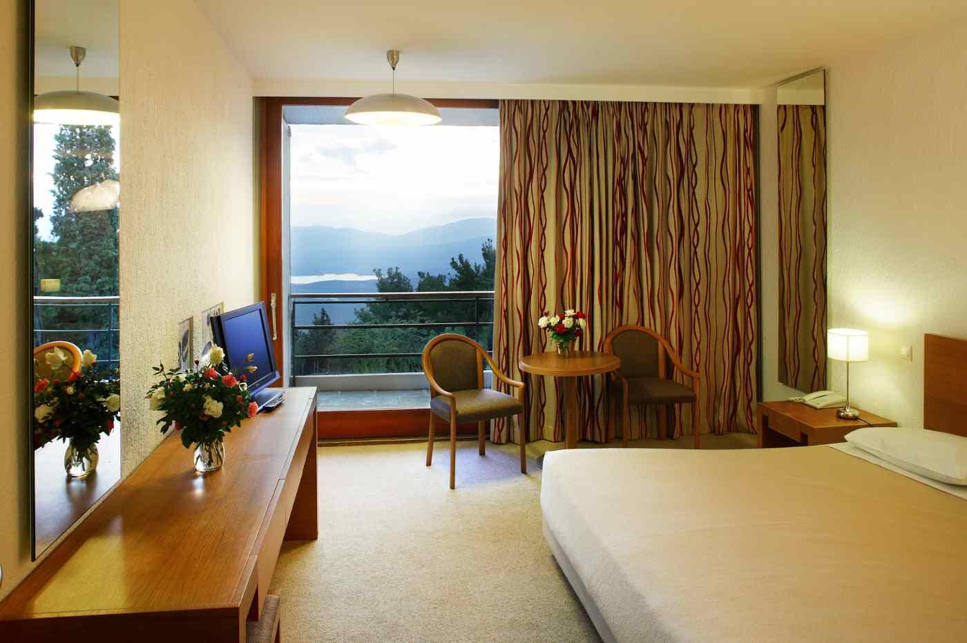 Hotelzimmer Delphi