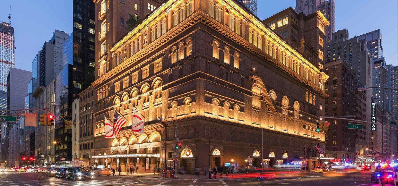 1. Carnegie Hall von außen