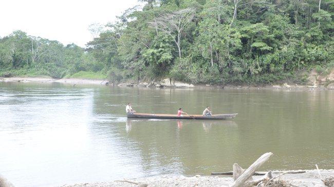 Am Putumayo-Fluss. Von hier aus ist der Amazonas nicht mehr weit.
