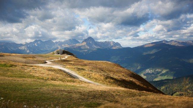 Fantastischer Blick auf das Corones - Messner Mountain Museum