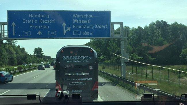 Bus nach Warschau
