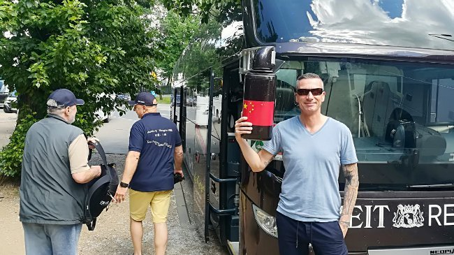 Busfahrer Markus