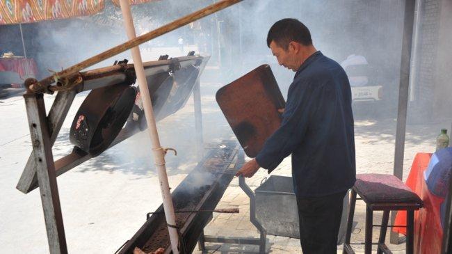 Zubereitung von Kebab