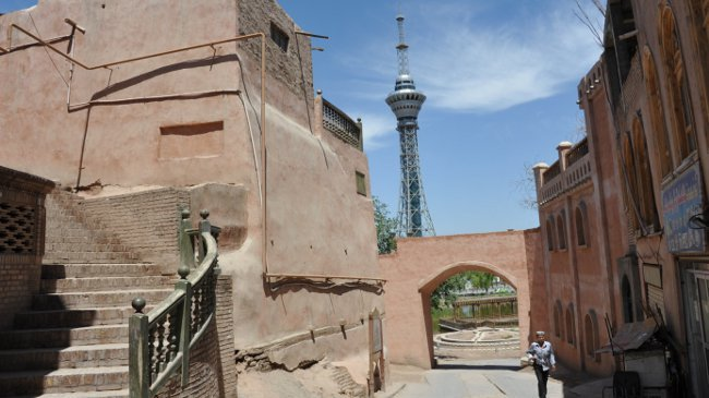 """""""Neues"""" Altstadtviertelin Kashgar"""
