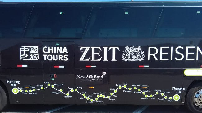 Der ZEIT-Bus on the Road