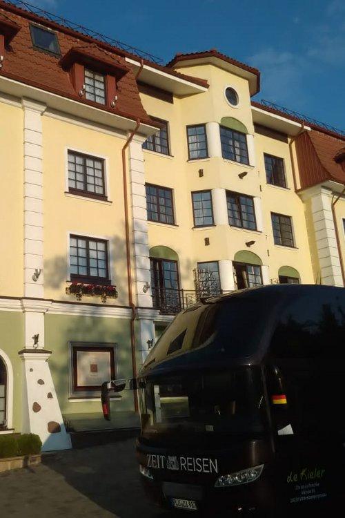 Das Hotel in Brest