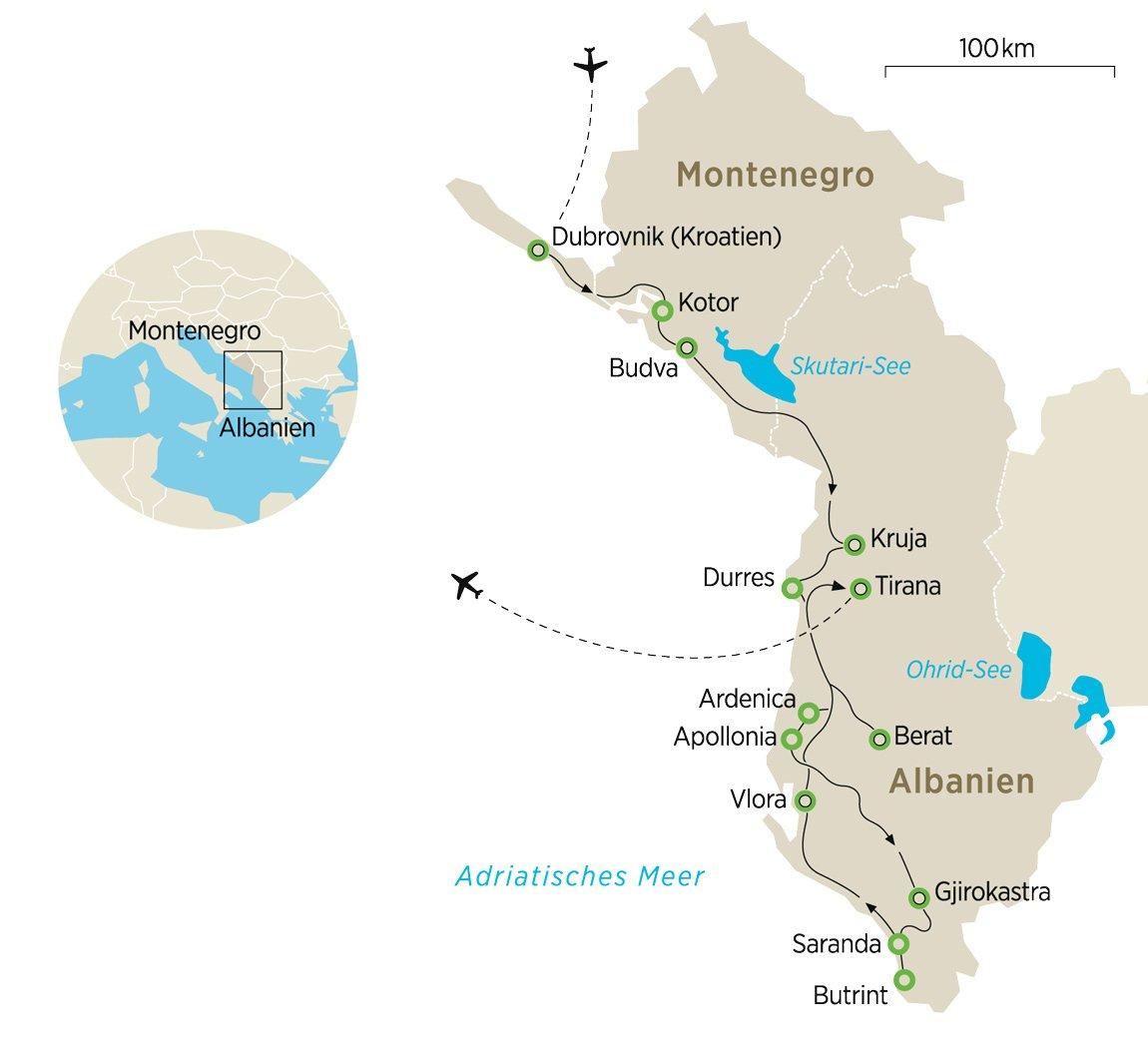 Karte Albanien.Albanien Zwischen Kreuz Und Halbmond Zeit Reisen