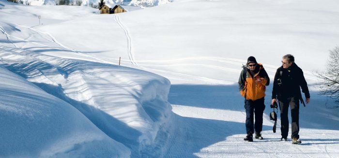 Winterwandern Rätoromania