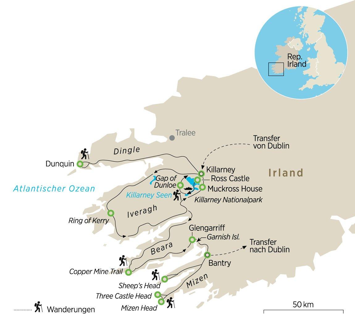 Irland Wandern