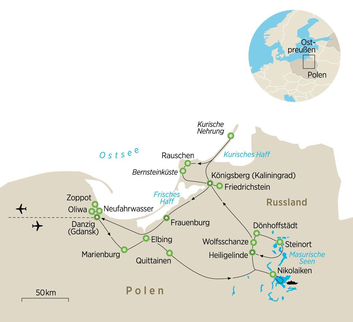 Wolfsschanze Karte.Polen Die Heimat Von Marion Grafin Donhoff Zeit Reisen