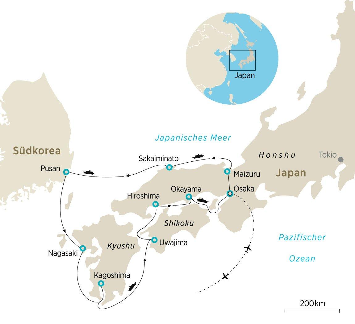 Traditionelles japan mit der le laperouse zeit reisen for Traditionelles japan