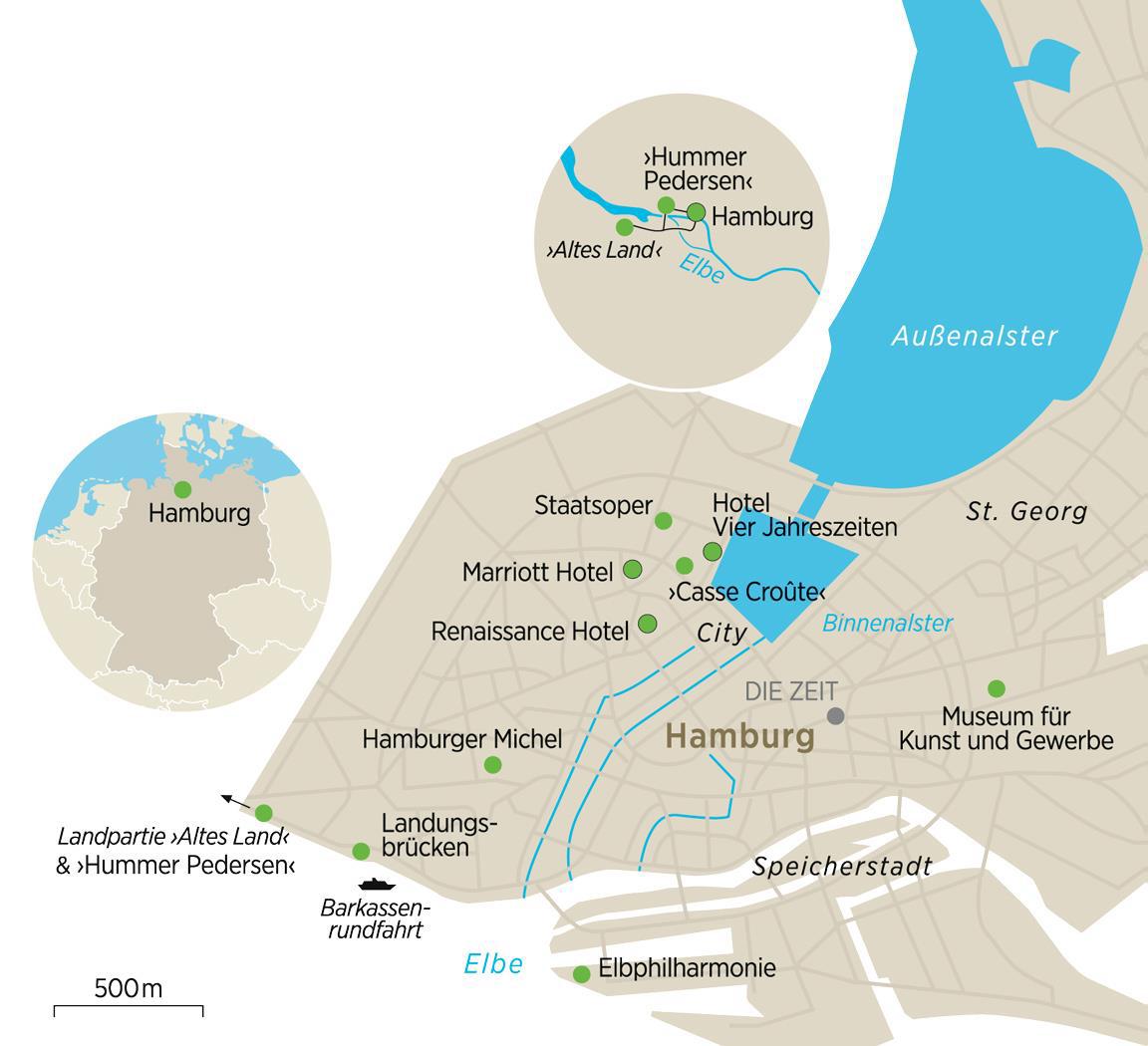 Karte 943 Hamburg